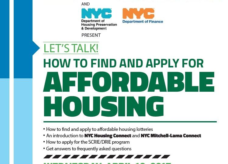 Sva Theatre How To Find And Apply For Affordable Housing